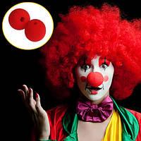 Странное платье поставок Степень красный губка клоун партии нос