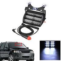 Контрольные огни аварийного автомобиля 18LED для панели приборов Авто Wind Shields