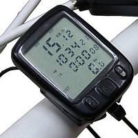 LED дисплей Велоспорт велосипед компьютер пробега спидометр