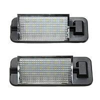 2x 12В 18LEDы номерной знак света светильники для BMW 3 серии е36