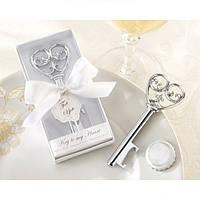 Креативный ключ Форма бутылки открывалка Свадебные подарки Металл открывалка Кухня инструмент