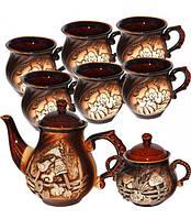 """Набор чайный """"Арго"""" 8 предметов на 6 персон"""