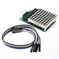 Max7219 матричный МК LED дисплей модуль управления комплект для Arduino с компанией DuPont кабеля