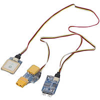 Skylark Tiny OSD III с 10Hz GPS и 80A Current Датчик для RC Дрон FPV Racing