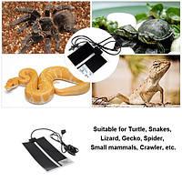 7w рептилий обогреватель регулируемая температура тепловой мат животное нагрева теплый коврик 220-240В