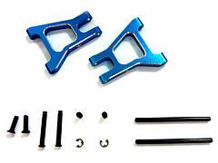 (82902) Blue Alum Rear Lower Susp Arms 2P Cap Head Machine Screws (2.6*10) 2P 1Set