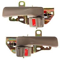 Бежевый передние задние внутри внутренней ручки двери для Тойота Camry 92-96