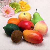 Пластиковые искусственные фрукты пластиковая еда домашнего украшения