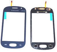 Тачскрин (сенсор, экран) Samsung S6810 Galaxy Fame синий