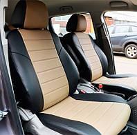 Авточехлы из экокожи Mitsubishi Lancer-9 2003-2009 Pilot Союз-авто