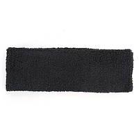 Высококачественный спортивный хлопок Headbrand Sweatband Black