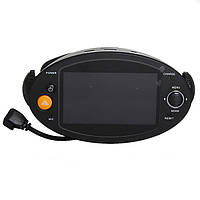 2.7-дюймовый HD 720p DVR автомобиля GPS двойной линзы автомобиль камера видеомагнитофон