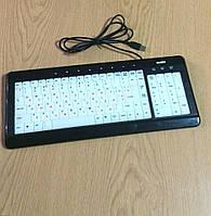 Клавиатура проводная Sven Comfort 7200EL USB с подсветкой  б/у