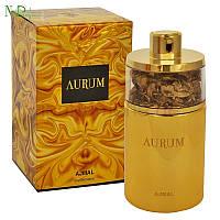 Ajmal Aurum - Набор (Парфюмированная вода 75 мл * Лосьон для тела 200 мл * Гель для душа 100 мл * пудра)