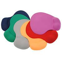 Удобный эргономичный коврик для мыши с остальными запястья руки для ноутбука 7 цвет