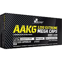 Предтренировочный комплекс Olimp Labs AAKG 1250 Extreme Mega Caps (120 капс)