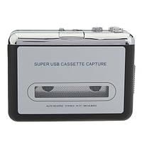 12В 10Вт USB стерео кассеты захватить кассету в mp3 датчик