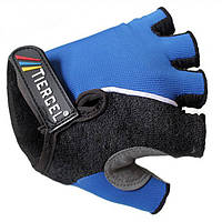 Tiercel велосипед половина Finger перчатки-синий горный велосипед Велоспорт перчатки