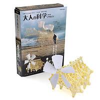 Ветряные ходьба ходунки мини strandbeest модели комплекты DIY Ассамблеи