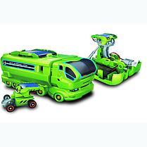 7 в 1 перезаряжаемые солнечной энергии автомобильный комплект обучающие игрушки, фото 3