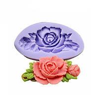 F0199 силикона розы торта Плесень мыло Шоколадное смолы Mold выпечки Инструмент