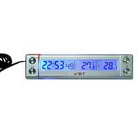 Автомобильный цифровой термометр часы календарь транспортного средства бытовые