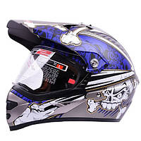 Мотоцикл Classic Шлем для наружной печати Full Face для LS2