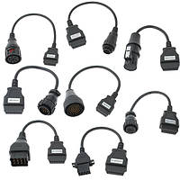 8 грузовик диагностический тестер кабель-адаптер для кнорр Бенц Рено и т.д.