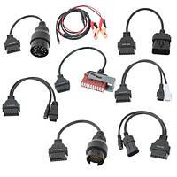 8 автомобильный диагностический кабель-адаптер для Audi БМВ Бенц Опель Фиат