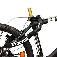 Велосипедная сталь горного велосипеда 5 цифровых кодовых замков