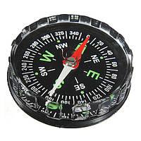 Мини карманный компас жидкостный открытый выживания навигационный инструмент