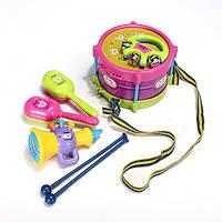 Рулон 5шт детские барабан музыкальные инструменты детские детские игрушки ударная установка