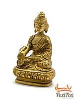 """Настольная статуэтка """"Будда"""" бронзовая"""
