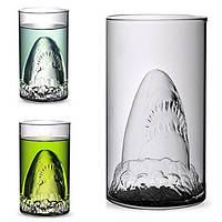 Творческий акула пивная кружка стеклянная чашка шампанского чашки красного вина