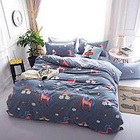Комплект постельного белья Единорог (полуторный) Berni, фото 1