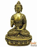 """Статуя """"Будда в позе лотоса"""" бронзовая"""