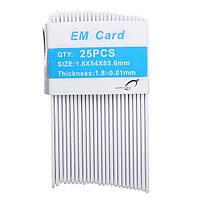 25шт манго 125 кГц ПВХ дверь системами контроля доступа карты их/ID карточки