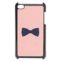 Розовый милый замороженный лук назад чехол обложка кожи для iPod сенсорный 4
