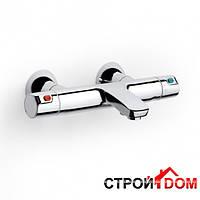 Настенный термостат для ванны с регулятором переключателя потока Roca Victoria A5A1118C00 Хром