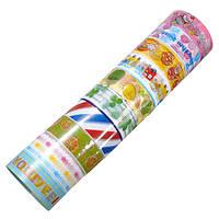 10шт DIY ленты мультфильм мило украшения многоцветной наклейки кружева цветок ткани этикетки Shool Официальный печати
