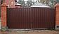 Ворота и калитки из профнастила, фото 5