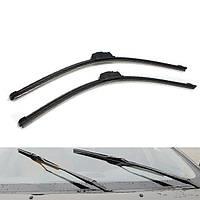 Черный плоский фронт лезвия счищателя windscreen автомобиля для Volvo V50 или S40 на