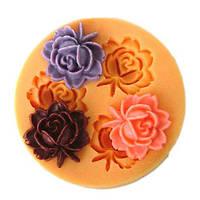 F0033 силиконовой смолы цветочный торт прессформы мыла шоколадные конфеты желе прессформы