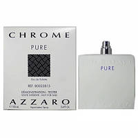 Azzaro Chrome Pure EDT 100ml TESTER