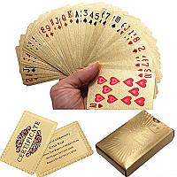 Сусальное золото 24k покрыло покер игральные карты свидетельстве доллар евро