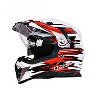 ЕЭК с двумя объективами мотокросс шлемы мотоцикла шлем для дисиликато-лития (ls2