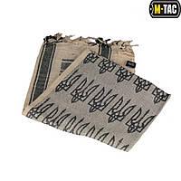 Шарф шемаг с тризубом хаки/чёрный (M-Tac), фото 1