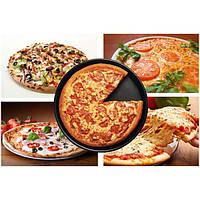 6 дюймов черный круглый покрытия пиццы плиты алюминиевого сплава с антипригарным пицца плиты