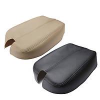 Черная бежевая консоль Реальная кожа Авто Подлокотник для подлокотника для Honda Аккорд