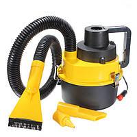 Портативный мокрой и сухой пылесос автомобиля авто Гувер пневматический насос 12V